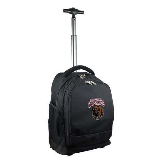 CLMGL780-BK: NCAA Montana Grizzlies Wheeled Premium Backpack
