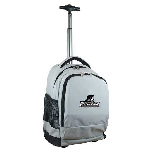 CLPCL780-GY: NCAA Providence College Wheeled Premium Backpack