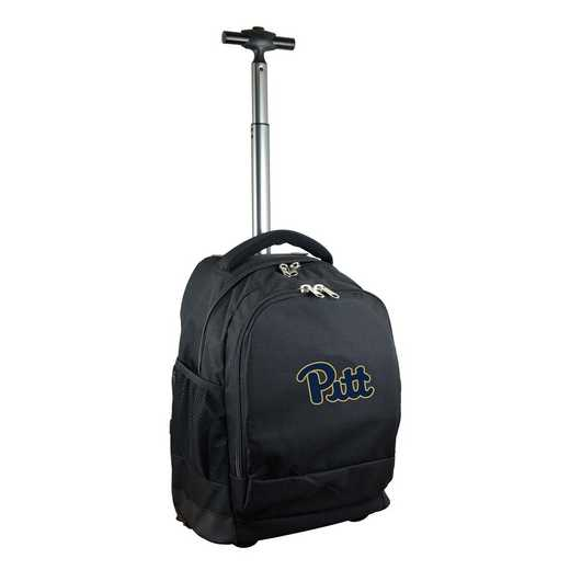 CLPIL780-BK: NCAA Pittsburgh Panthers Wheeled Premium Backpack
