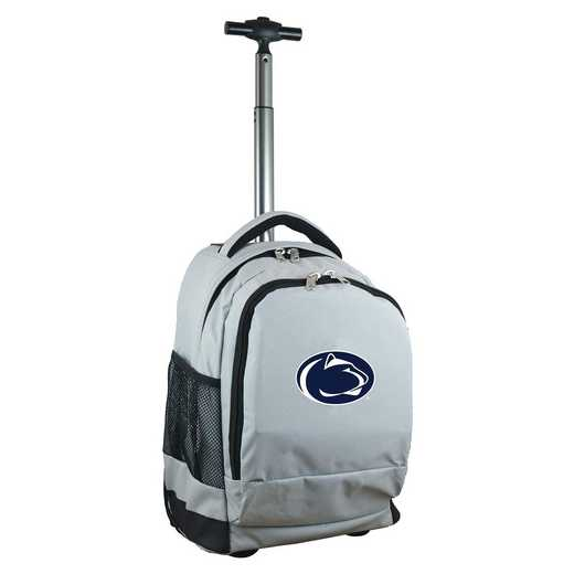 CLPSL780-GY: NCAA Penn State Nittany Lions Wheeled Premium Backpack