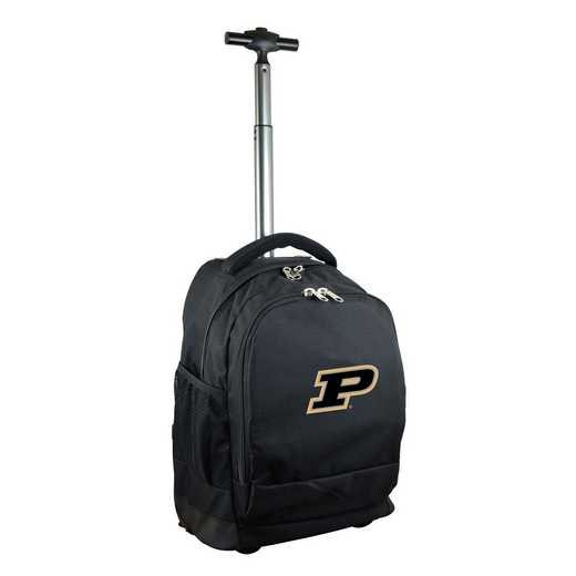 CLPUL780-BK: NCAA Purdue Boilermakers Wheeled Premium Backpack