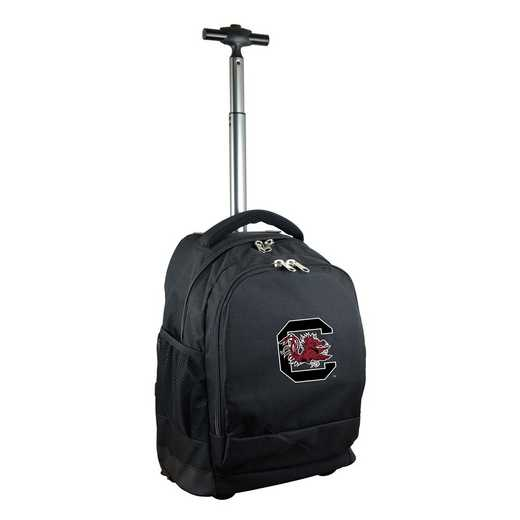 CLSOL780-BK: NCAA South Carolina Gamecocks Wheeled Premium Backpack