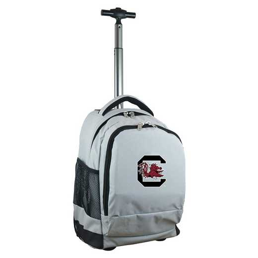CLSOL780-GY: NCAA South Carolina Gamecocks Wheeled Premium Backpack