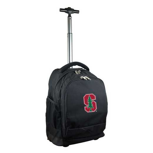 CLSUL780-BK: NCAA Stanford Cardinal Wheeled Premium Backpack