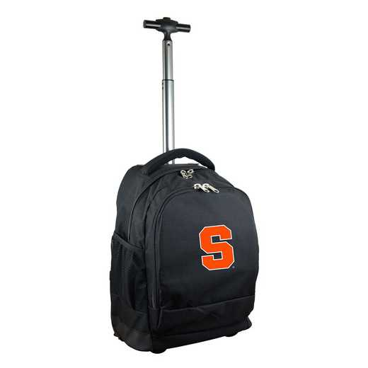 CLSYL780-BK: NCAA Syracuse Orange Wheeled Premium Backpack