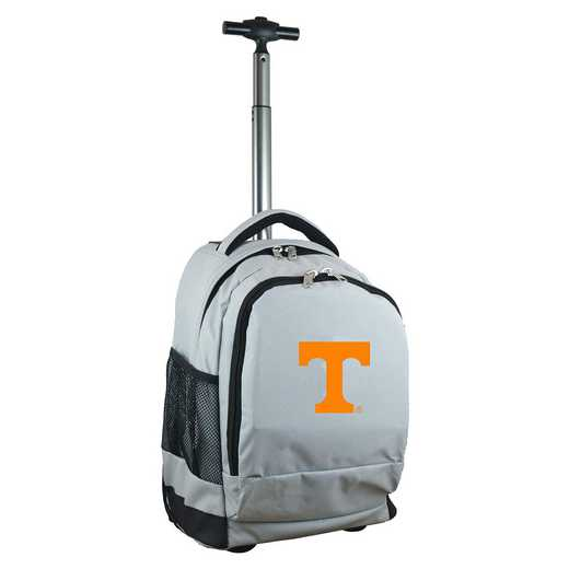 CLTNL780-GY: NCAA Tennessee Vols Wheeled Premium Backpack