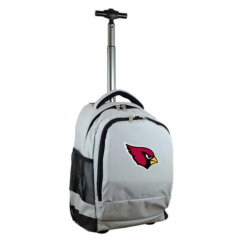NFACL780-GY: NFL Arizona Cardinals Wheeled Premium Backpack