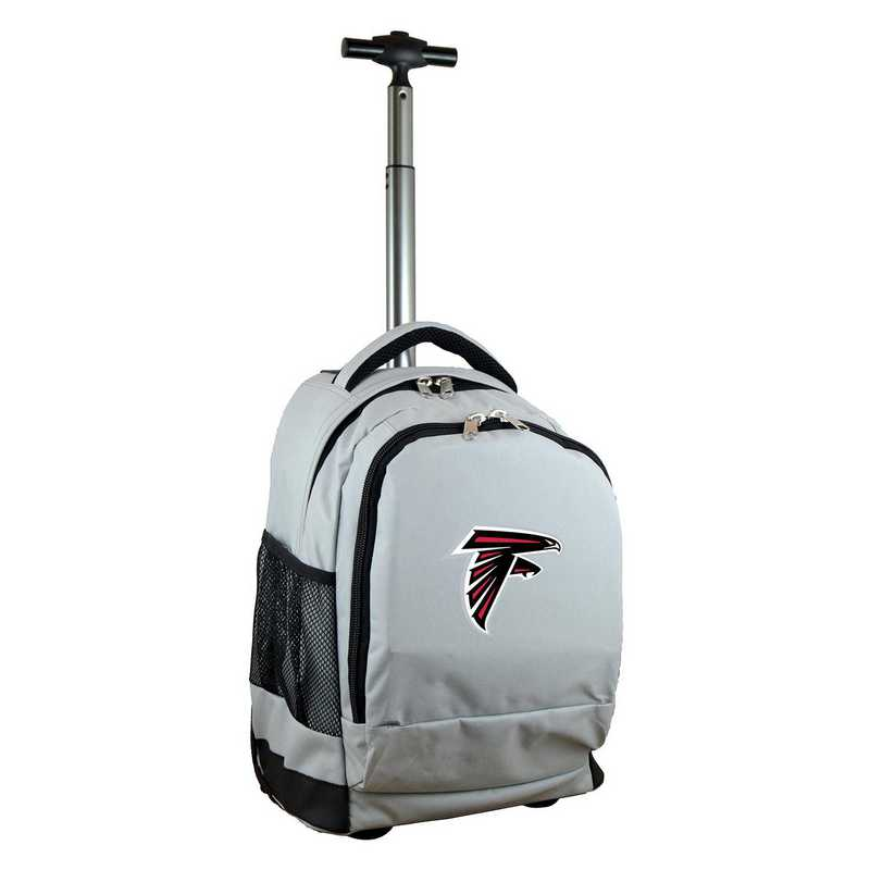 NFAFL780-GY: NFL Atlanta Falcons Wheeled Premium Backpack