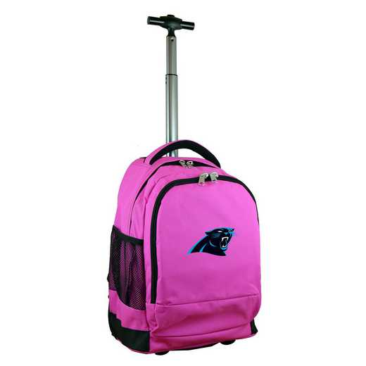 NFCPL780-PK: NFL Carolina Panthers Wheeled Premium Backpack