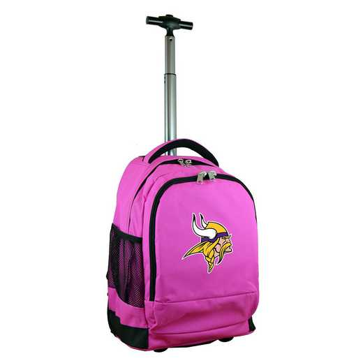 NFMVL780-PK: NFL Minnesota Vikings Wheeled Premium Backpack