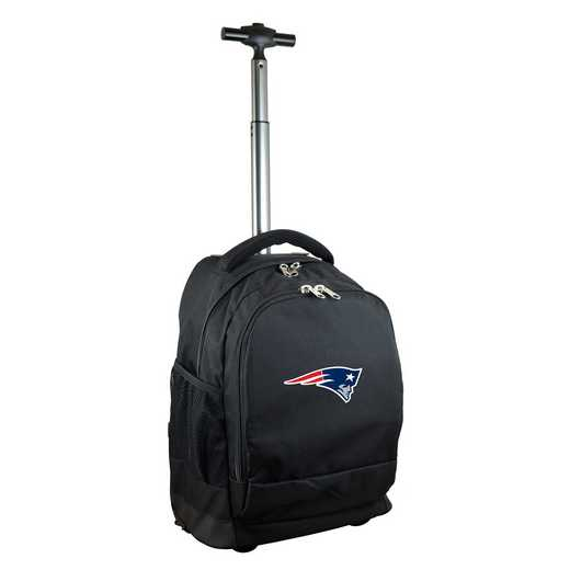 NFNPL780-BK: NFL New England Patriots Wheeled Premium Backpack