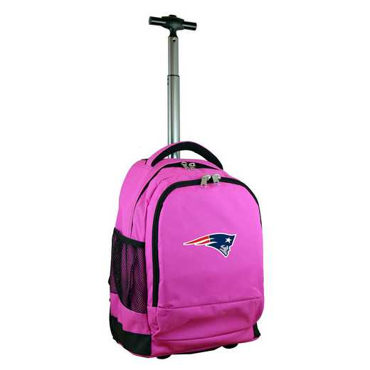 NFNPL780-PK: NFL New England Patriots Wheeled Premium Backpack