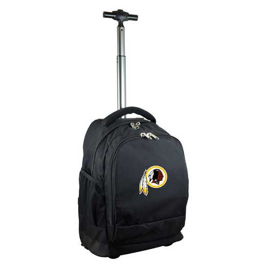 NFWRL780-BK: NFL Washington Redskins Wheeled Premium Backpack