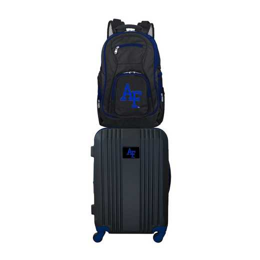 CLAFL108: NCAA Air Force Falcons 2 PC ST Luggage / Backpack