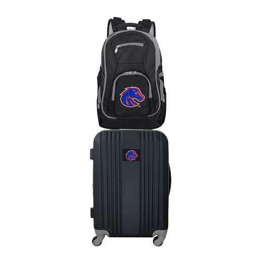CLBSL108: NCAA Boise State Broncos 2 PC ST Luggage / Backpack