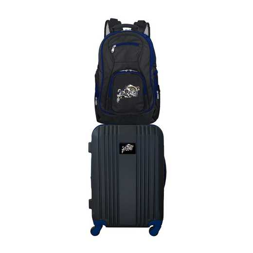 CLNVL108: NCAA Navy Midshipmen 2 PC ST Luggage / Backpack