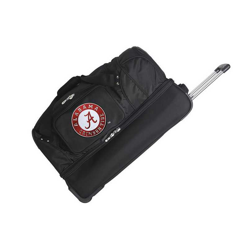 CLALL300: NCAA Alabama Crimson Tide 27IN WHLD Duffel Nylon bag