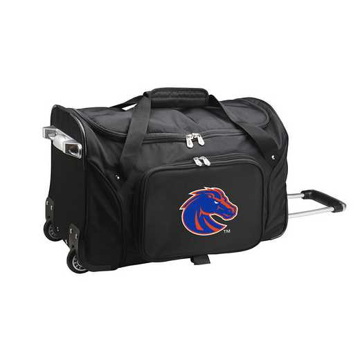 CLBSL401: NCAA Boise State Broncos 22IN WHLD Duffel Nylon Bag