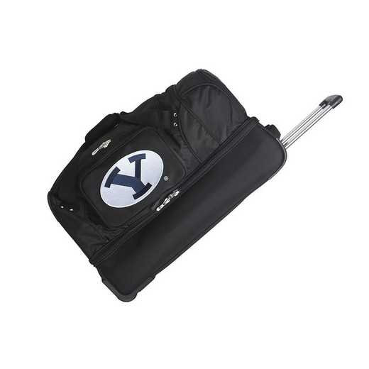 CLBYL300: NCAA Brigham Young Cougars 27IN WHLD Duffel Nylon bag