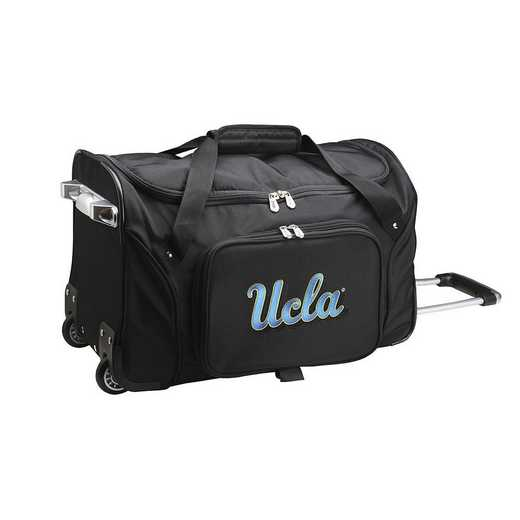 CLCAL401: NCAA UCLA Bruins 22IN WHLD Duffel Nylon Bag