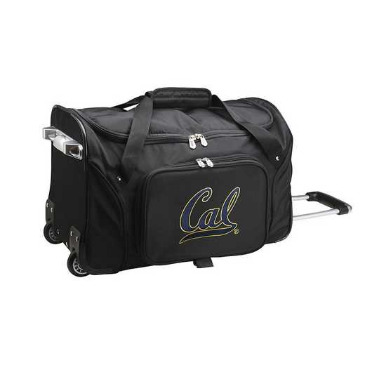 CLCBL401: NCAA California Bears 22IN WHLD Duffel Nylon Bag