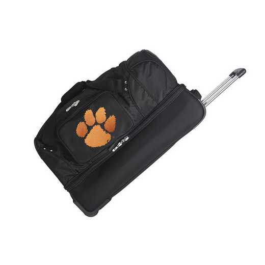 CLCLL300: NCAA Clemson Tigers 27IN WHLD Duffel Nylon bag