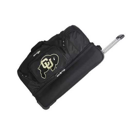 CLCOL300: NCAA Colorado Buffaloes 27IN WHLD Duffel Nylon bag