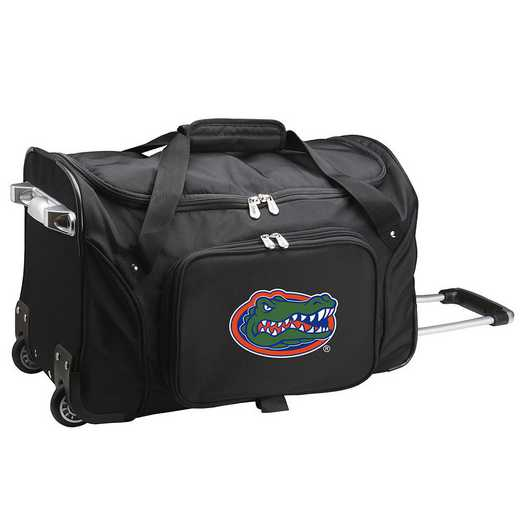 CLFLL401: NCAA Florida Gators 22IN WHLD Duffel Nylon Bag
