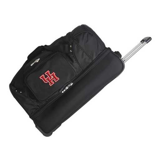 CLHUL300: NCAA Houston Cougars 27IN WHLD Duffel Nylon bag