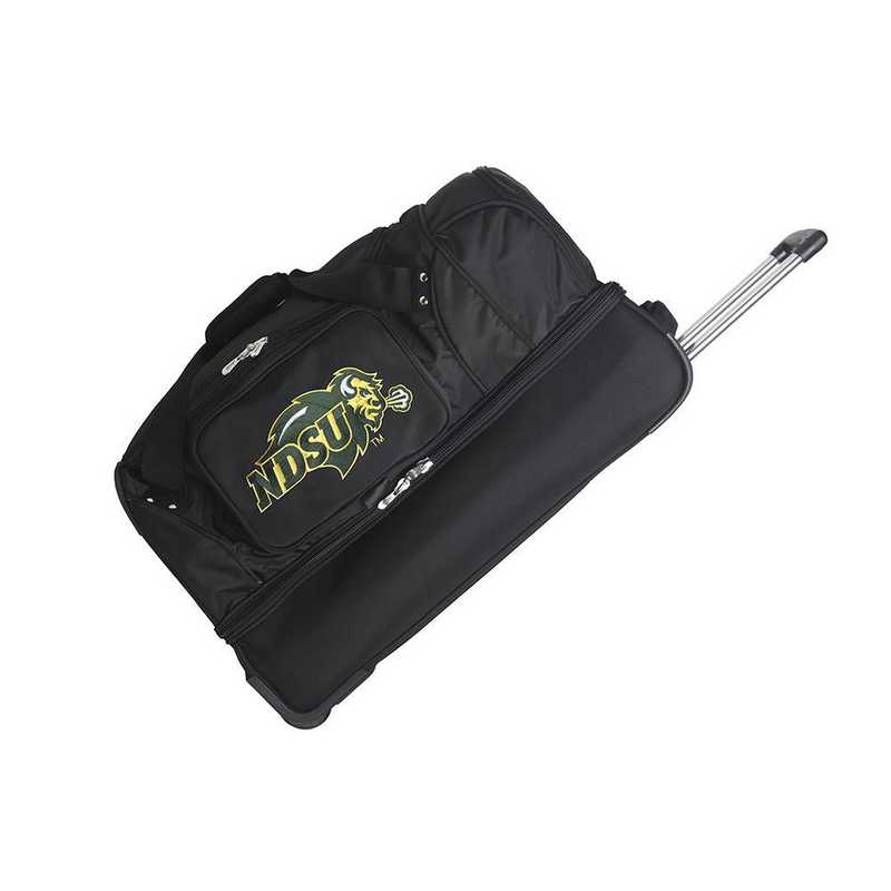 CLNUL300: NCAA North Dakota State Bison 27IN WHLD Duffel Nylon bag