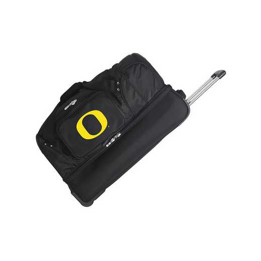 CLODL300: NCAA Oregon Ducks 27IN WHLD Duffel Nylon bag