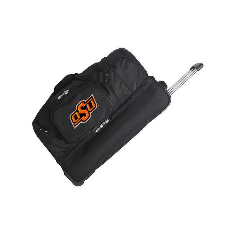 CLOKL300: NCAA Oklahoma State Cowboys 27IN WHLD Duffel Nylon bag
