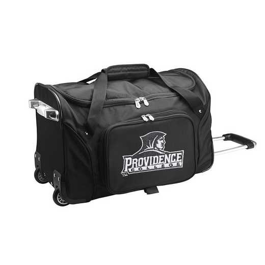 CLPCL401: NCAA Providence College 22IN WHLD Duffel Nylon Bag