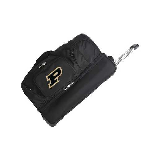 CLPUL300: NCAA Purdue Boilermakers 27IN WHLD Duffel Nylon bag