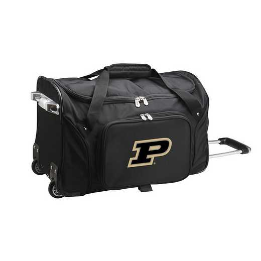 CLPUL401: NCAA Purdue Boilermakers 22IN WHLD Duffel Nylon Bag