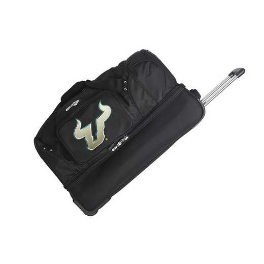 CLSFL300: NCAA South Florida Bulls 27IN WHLD Duffel Nylon bag