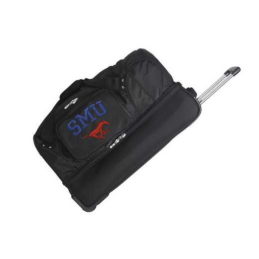 CLSML300: NCAA Southern Methodist Mustangs 27IN WHLD Duffel Nylon bag