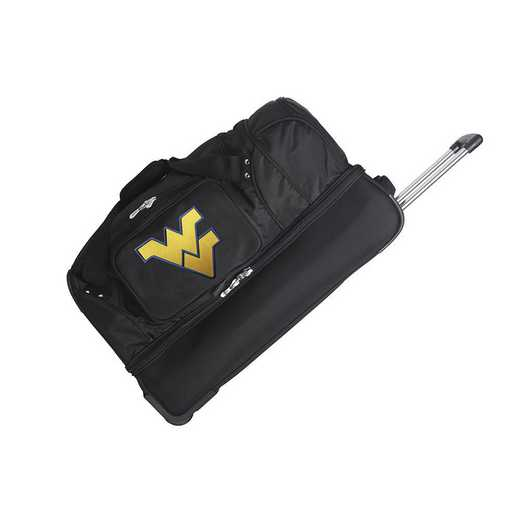 CLWVL300: NCAA West Virginia Mountaineers 27IN WHLD Duffel Nylon bag