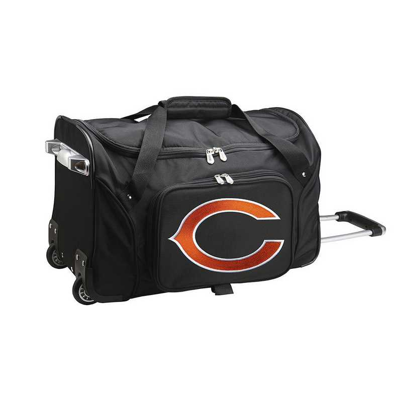 NFCHL401: NFL Chicago Bears 22IN WHLD Duffel Nylon Bag