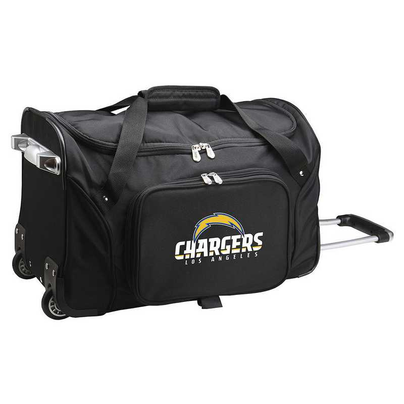 NFLCL401: NFL Los Angeles Chargers  22IN WHLD Duffel Nylon Bag
