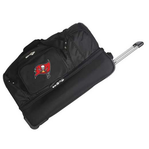 NFTBL300: NFL Tampa Bay Buccaneers 27IN WHLD Duffel Nylon bag