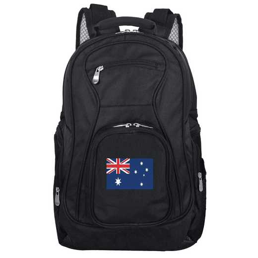FLAUL704: Australia Flag Backpack Black