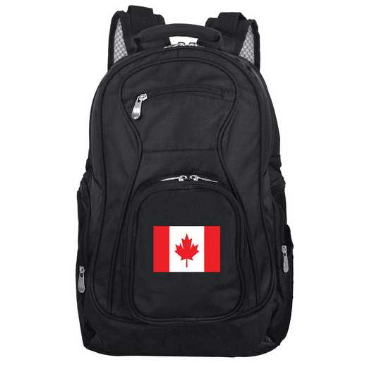 FLCAL704: Canada Flag Backpack Black