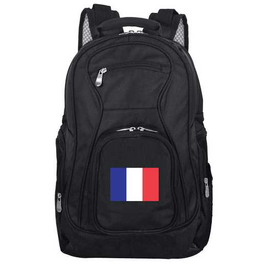 FLFRL704: France Flag Backpack Black