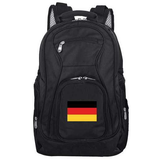 FLGEL704: Germany Flag Backpack Black