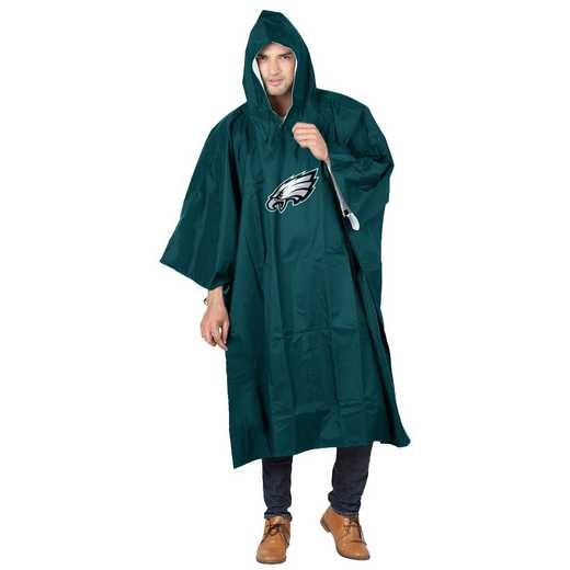 C11NFL47C300011RTL: NFL Eagles Deluxe Poncho