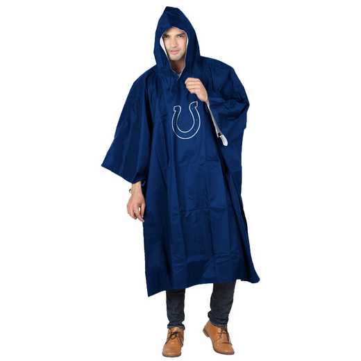 C11NFL47C430008RTL: NFL Colts Deluxe Poncho