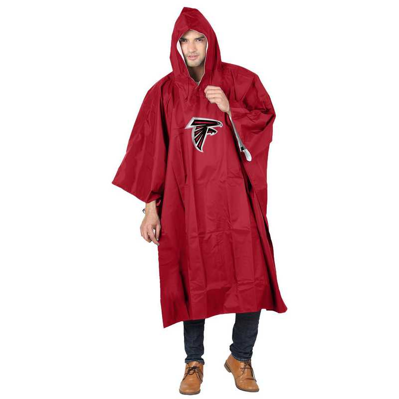 C11NFL47C600012RTL: NFL Falcons Deluxe Poncho