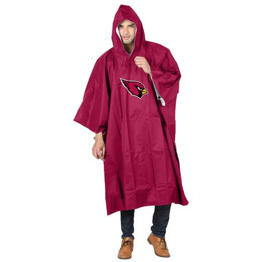 C11NFL47C600080RTL: NFL Cardinals Deluxe Poncho