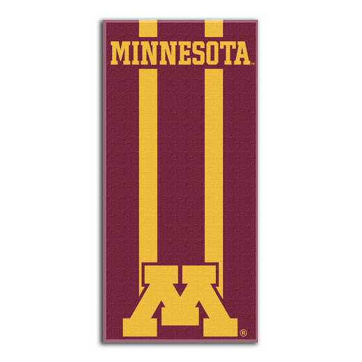 1COL620000050RET: NW NCAA ZONE READ BEACH TOWEL, MINNESOTA